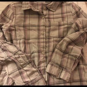 EUC Flannel Top
